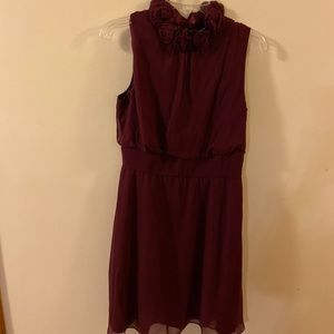 Antonio melani  maroon evening dress size 8